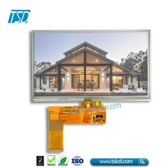 "500cd/m2 brightness 7"" TFT LCD Display with RTP"