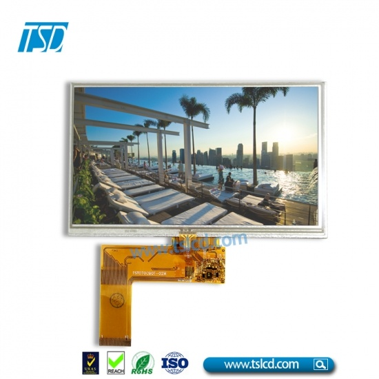 "7"" TFT LCD with  50pin"