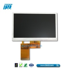cheap 480×272 resolution 4.3 inch tft lcd display