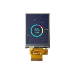 ZIF FPC connector 2.4inch 240x320 TFT lcd display