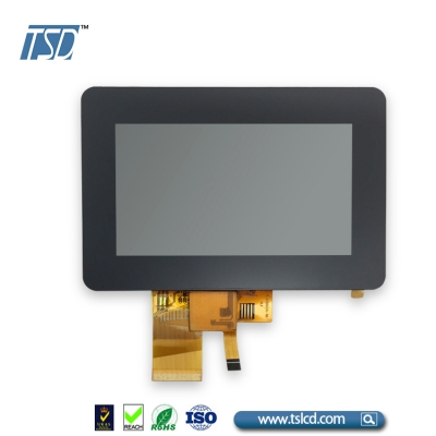 Hot sale WQVGA 4.3'' tft lcd module screen with CTP China
