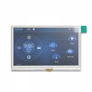 4.3 Zoll SSD1963 tft-lcd-board mit Widerstand-Touch Screen-Controller