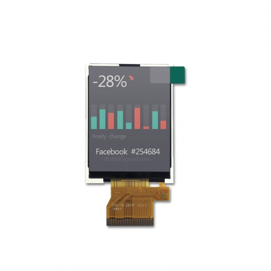2.8 inch color TFT with new IC