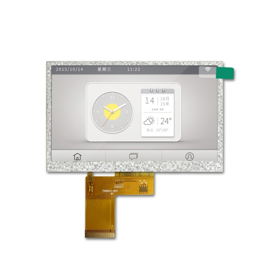 5 inch tft lcd display with 50 pins RGB