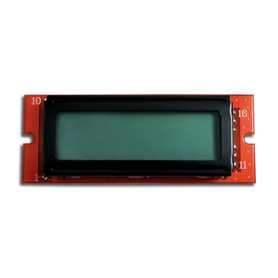 8x1 character lcd